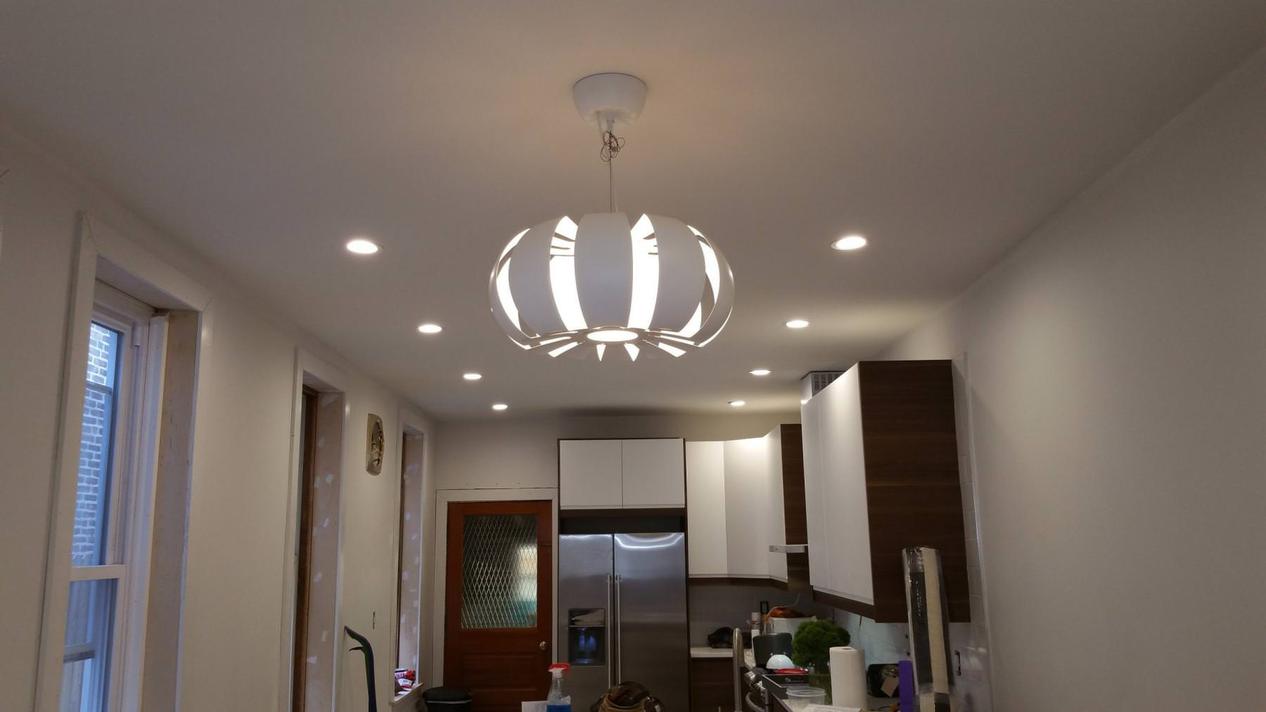 Lighting Fixture Installation