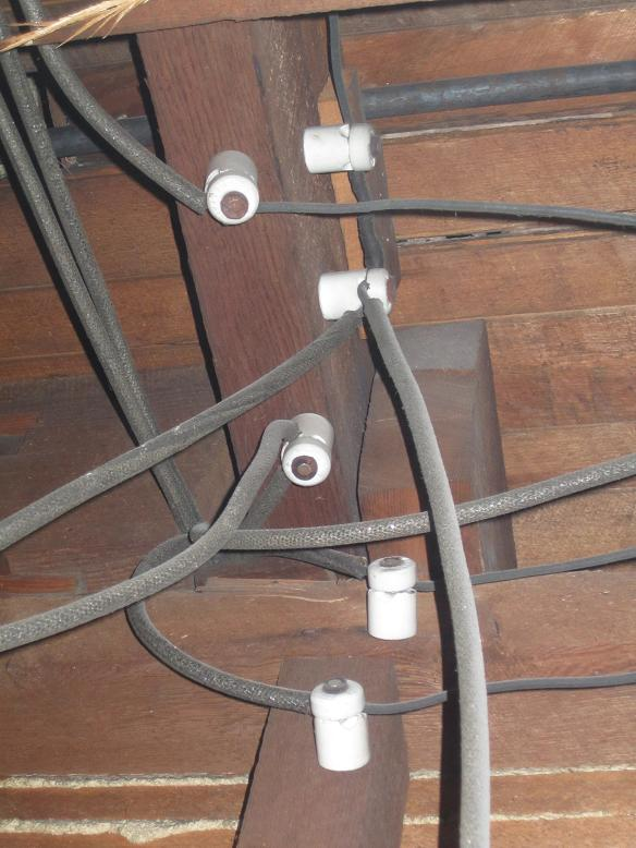 Of Building Insulation On Knob And Tube Electrical Circuit Safety