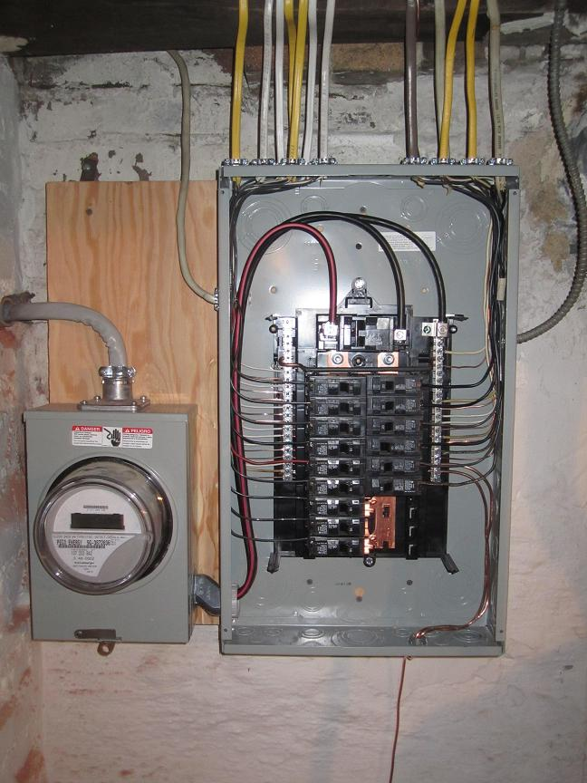 200 amp service panel wiring diagram electrical service for Best electrical panel for house