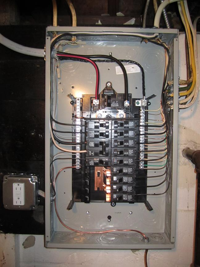 what your main electric panel says about the wiring in your home rh lauterbornelectric com electrical panel wiring electrical panel wiring best practices