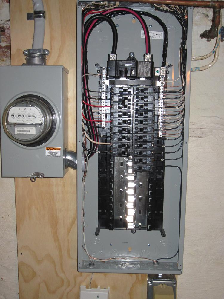 Upgrading your main electrical panel lauterborn electric for What is the standard electrical service for residential