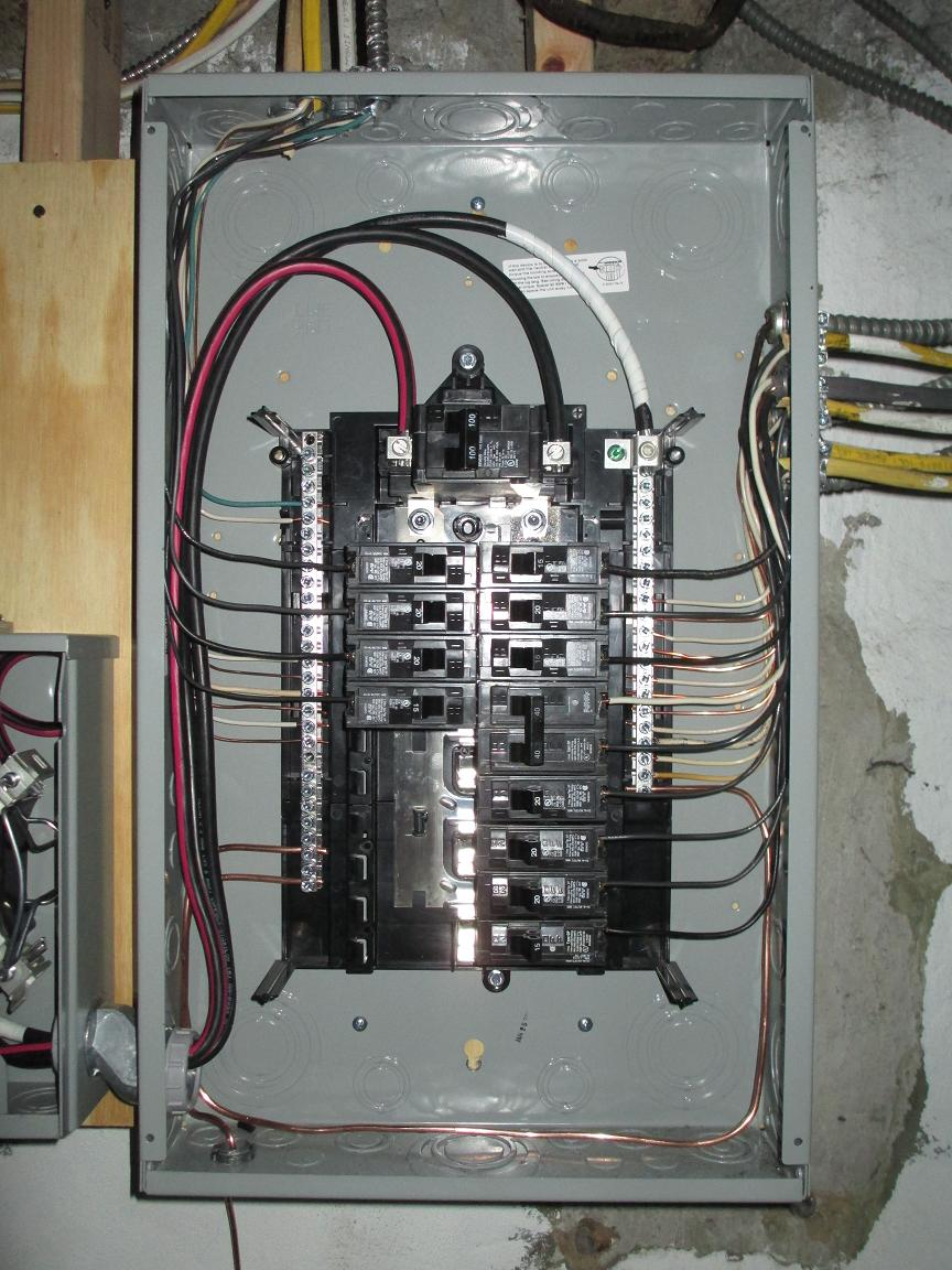 port richmond 100 amp service lauterborn electric rh lauterbornelectric com 200 Amp Breaker Panel Wiring Diagram 100 Amp Sub Panel Feeder