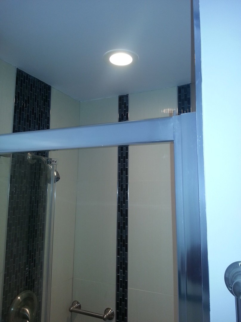 Vanity Light Gfci : The South Philadelphia Bathroom Remodel Lauterborn Electric