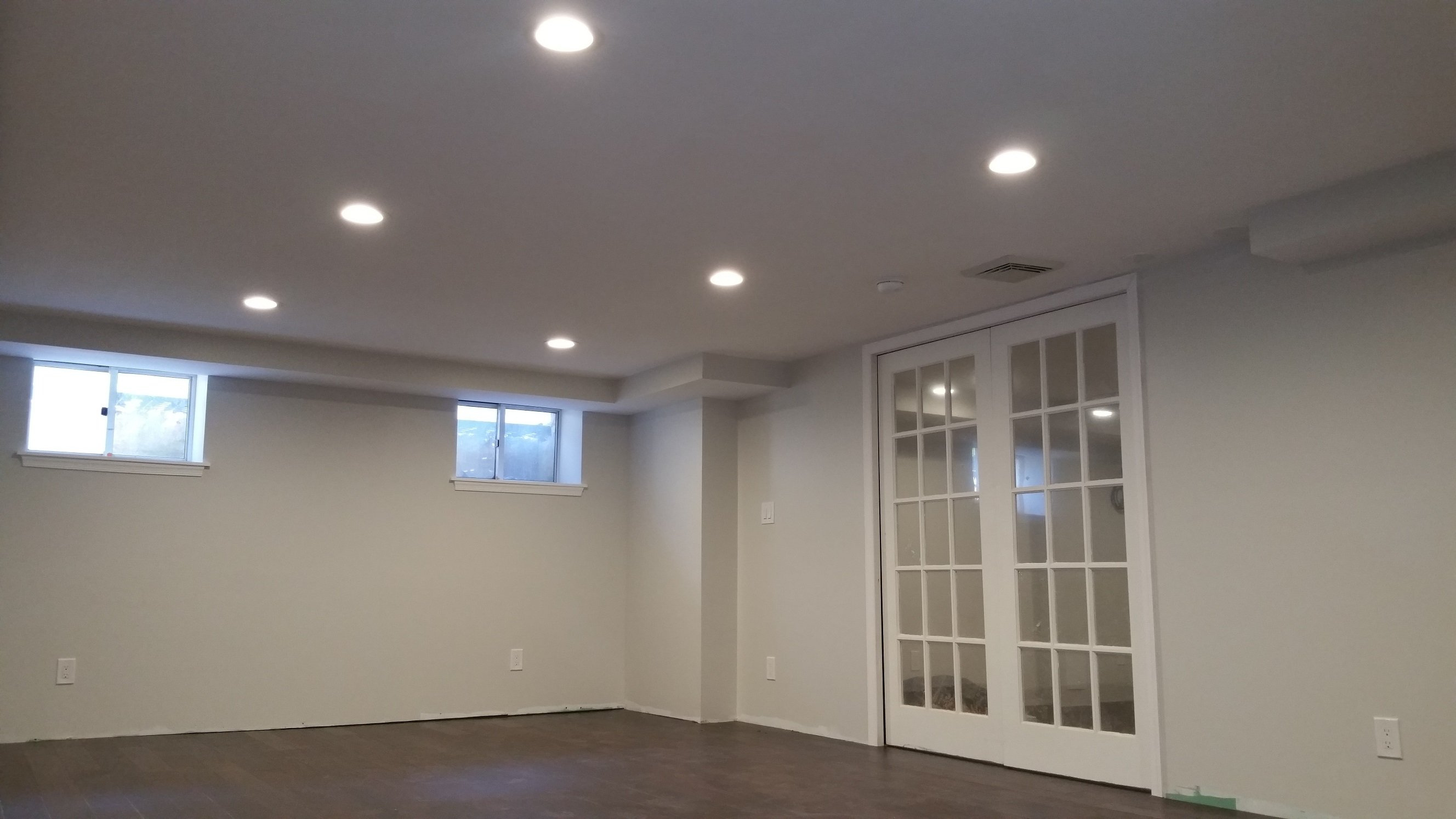 upgrading a basement to living space in bala cynwyd lauterborn electric