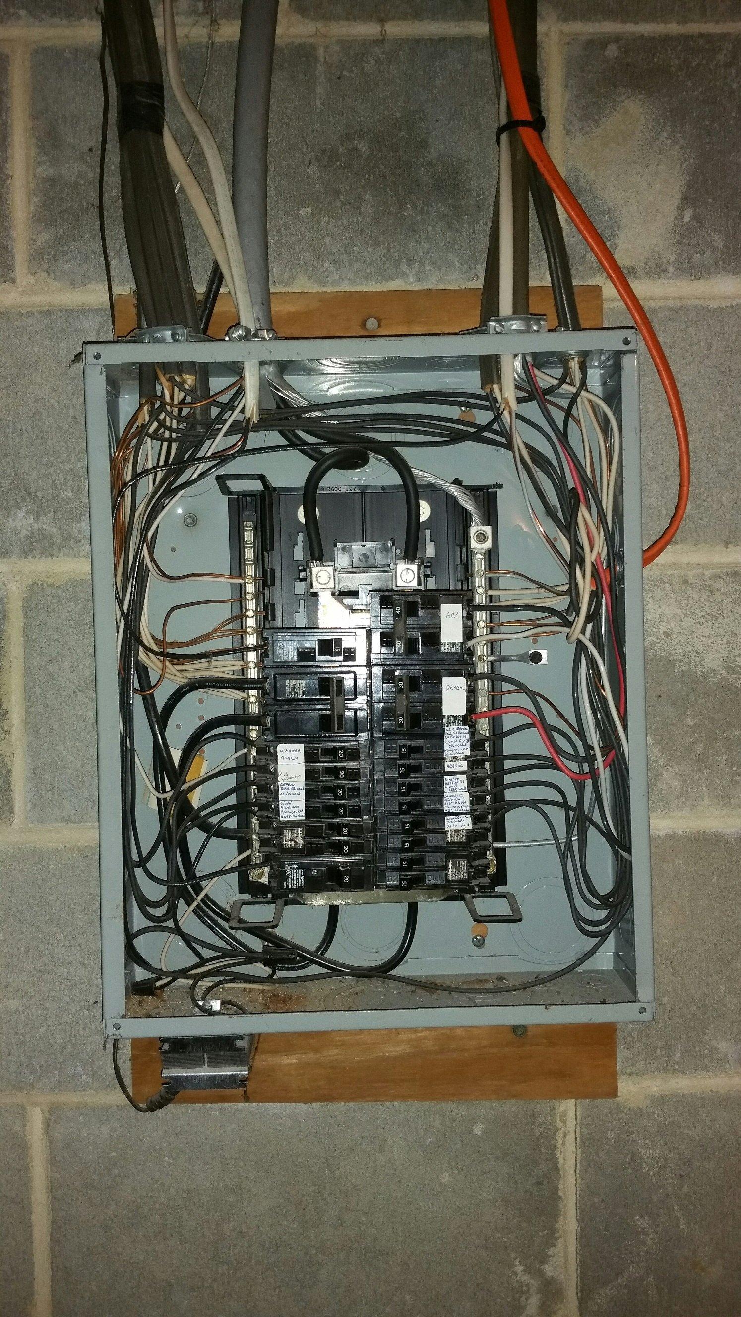 Tolle Old House Wiring Types Fotos - Der Schaltplan - triangre.info