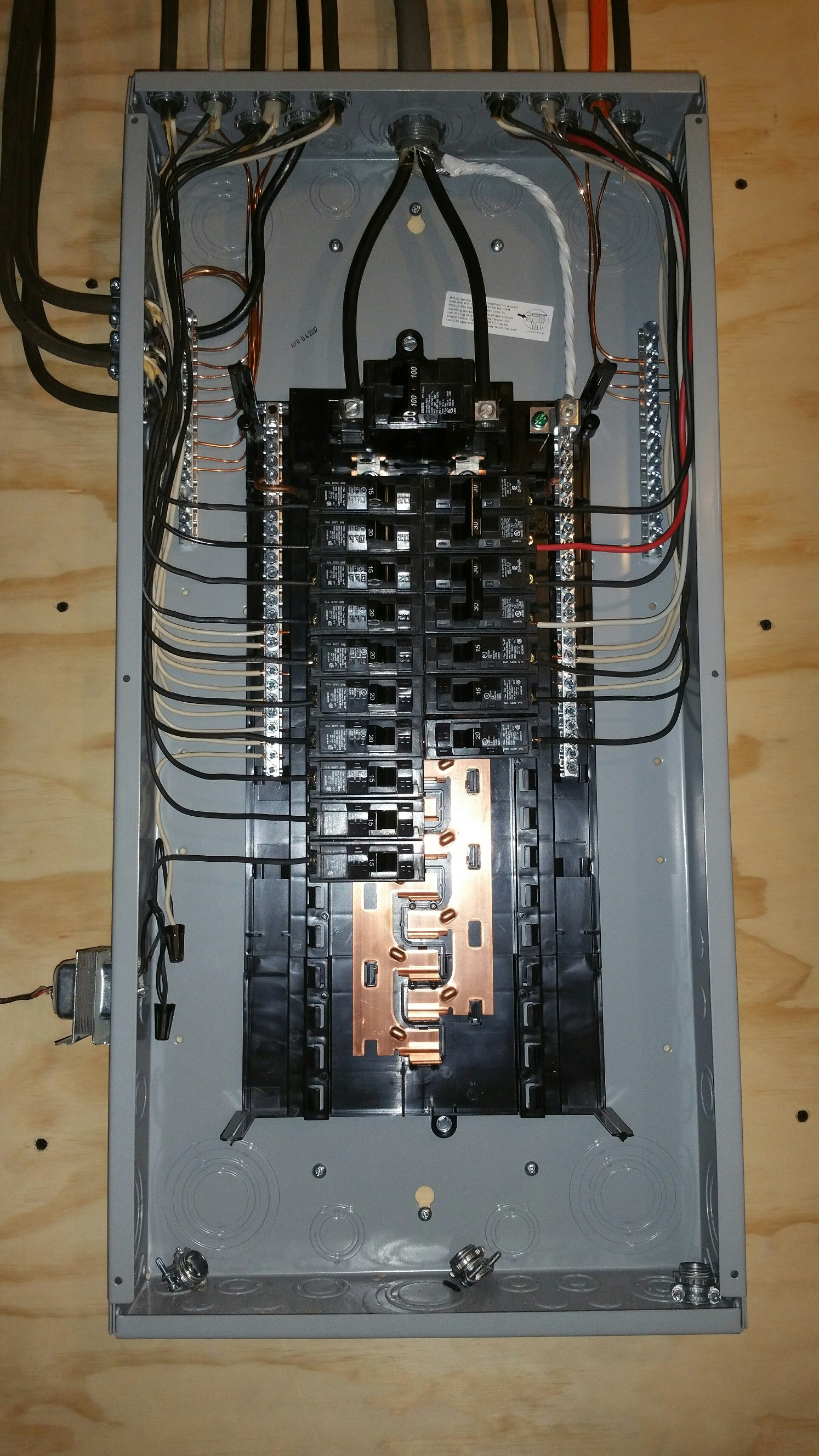 Update Old Electric Wiring - Example Electrical Circuit •