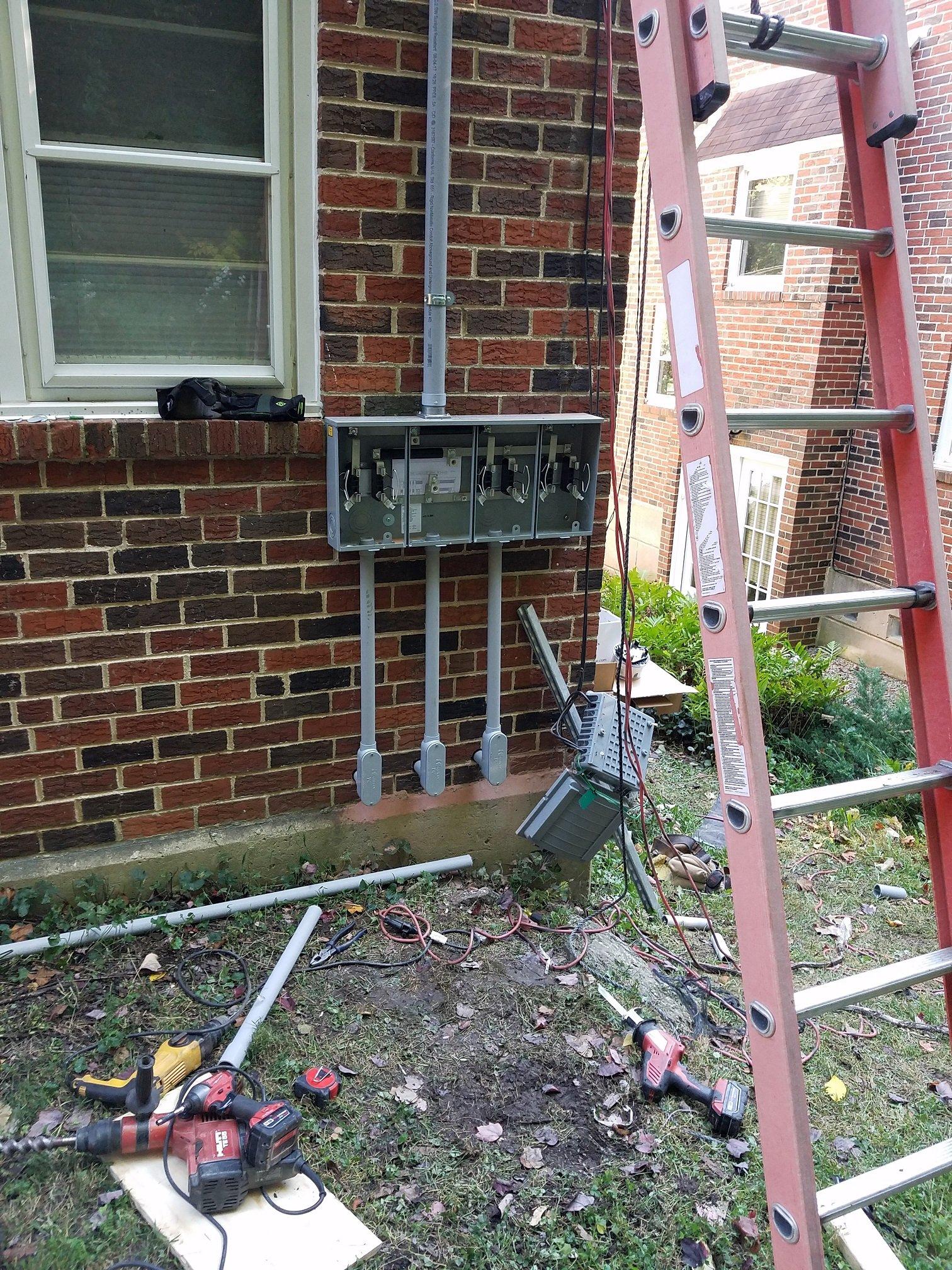 Main Electrical Service Upgrade in Roxborough | Lauterborn Electric