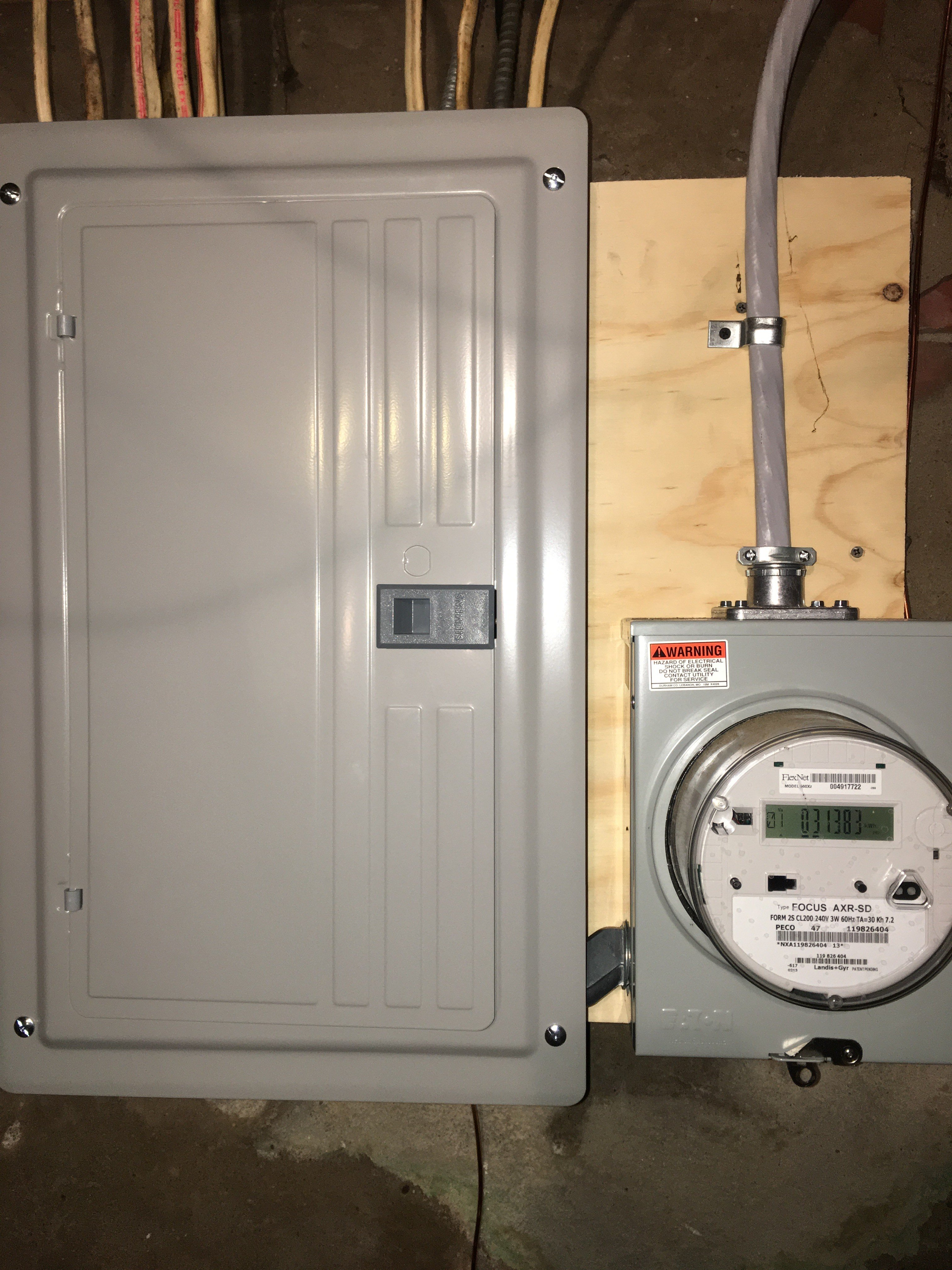 Electrician Philadelphia Electrical Contractors How To Do Home Wiring We Were Recently In Port Richmond Due Blinking Lights And Comcast Disconnecting Service Grounding Issues Upon Arrival Met By Over 100